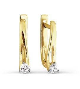Серьги с бриллиантами Т941026732