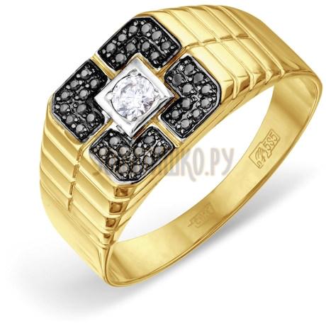 Кольцо с бриллиантами и Swarovski Zirconia Т941046684