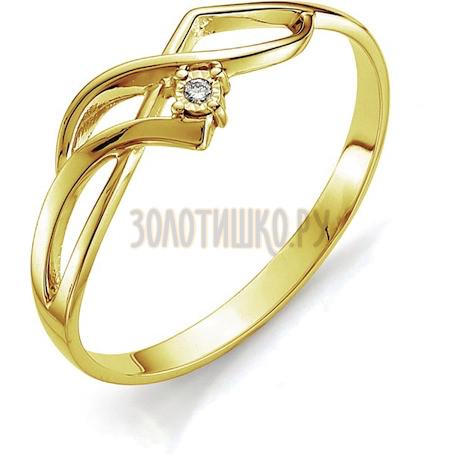 Кольцо с бриллиантом Т945613405