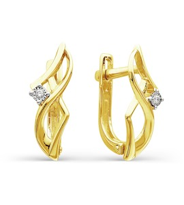 Серьги с бриллиантами Т945624175
