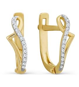 Серьги с бриллиантами Т946027432