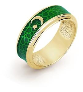 Кольцо с эмалью Т950016660