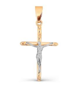 Крестик из красного золота Т13006638