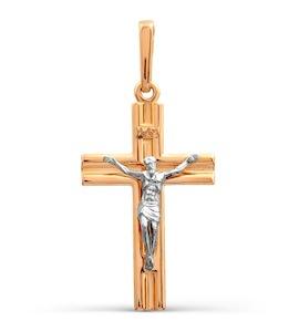 Крестик из красного золота Т13006639