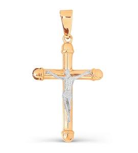 Крестик из красного золота Т13006640