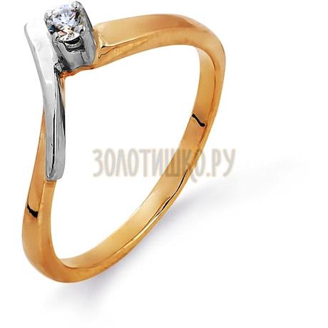 Кольцо с бриллиантом Т13101424