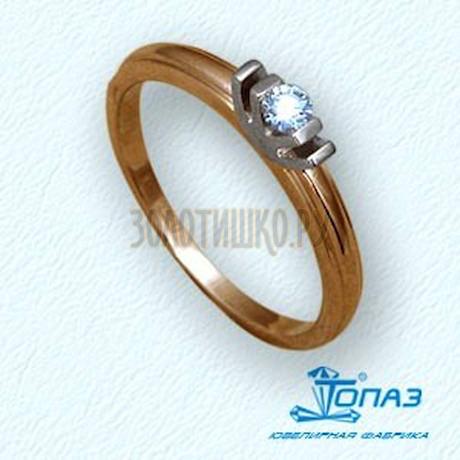 Кольцо с бриллиантом Т13101505
