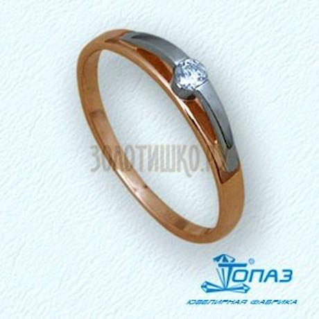Кольцо с бриллиантом Т13101515
