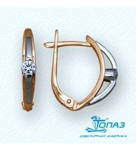 Серьги с бриллиантами Т13102515