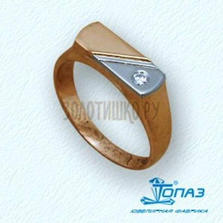 Кольцо с бриллиантом Т13104606