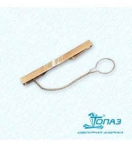 Зажим для галстука с фианитом Т13208003