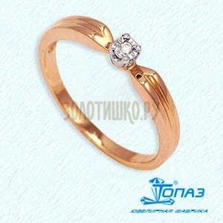 Кольцо с бриллиантом Т13561416