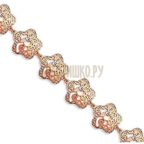 Браслет из красного золота Т14060233