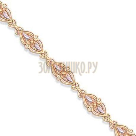 Браслет из красного золота Т14060285
