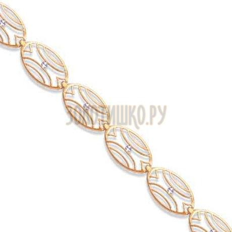 Браслет из красного золота Т14060287