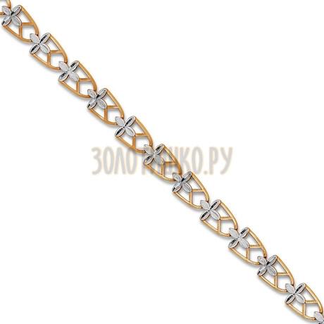 Браслет из красного золота Т14060632-16