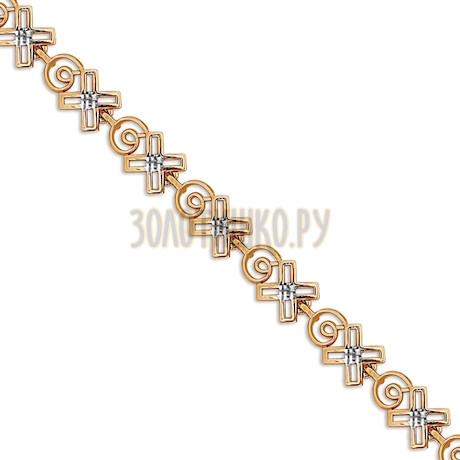 Браслет из красного золота Т14060634