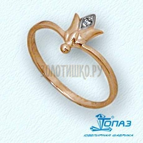Кольцо с бриллиантом Т14101696