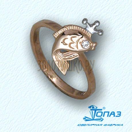 Кольцо с бриллиантом Т14101783