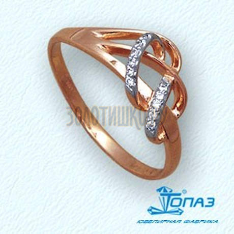 Кольцо с бриллиантами Т14101962