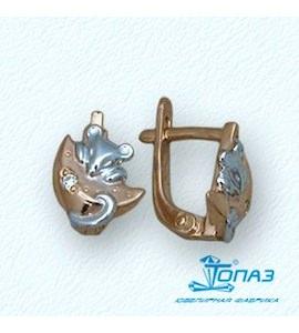 Серьги с бриллиантами Т14102647