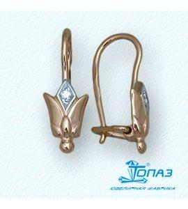 Серьги с бриллиантами Т14102678