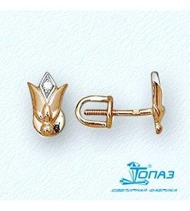Серьги с бриллиантами Т14102679