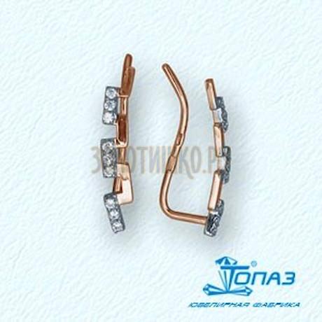 Серьги с фианитами Т14202832