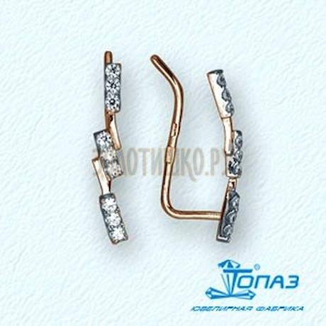 Серьги с фианитами Т14202860