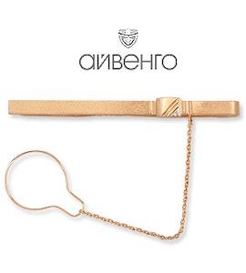 Зажим для галстука с фианитом Т14208029