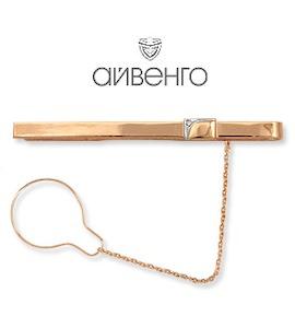 Зажим для галстука с фианитом Т14208033