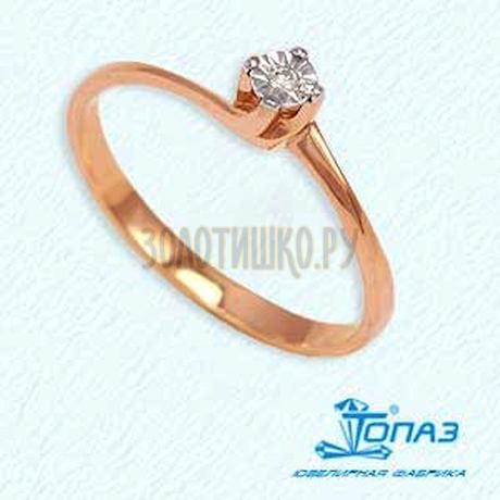 Кольцо с бриллиантом Т14561557