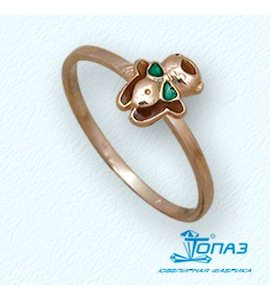 Кольцо с эмалью Т15001928
