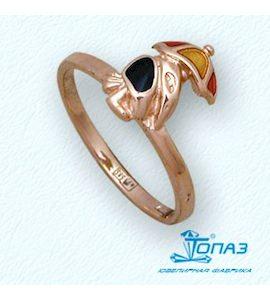 Кольцо с эмалью Т15001939