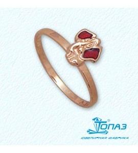 Кольцо с эмалью Т15001944