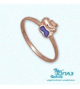 Кольцо с эмалью Т15001948
