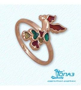 Кольцо с эмалью Т15001951