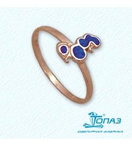 Кольцо с эмалью Т15001958