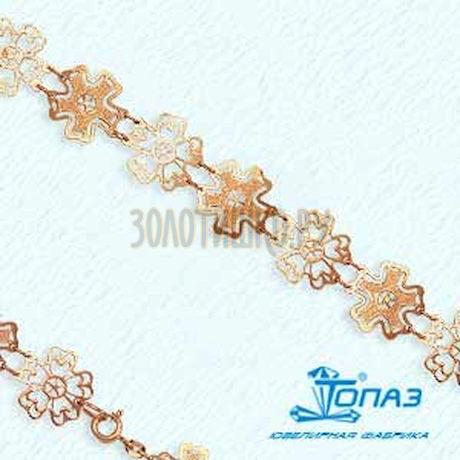 Браслет из красного золота Т16010467