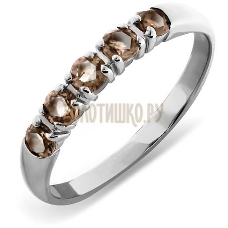 Кольцо с раухтопазами Т30101395_3
