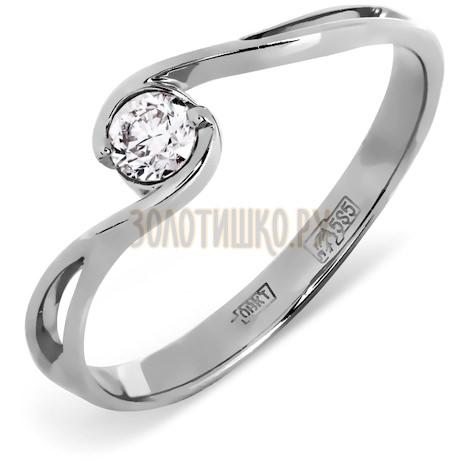 Кольцо с бриллиантом Т30101400