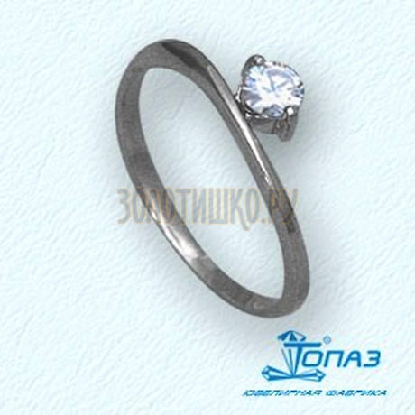 Кольцо с бриллиантом Т30101403