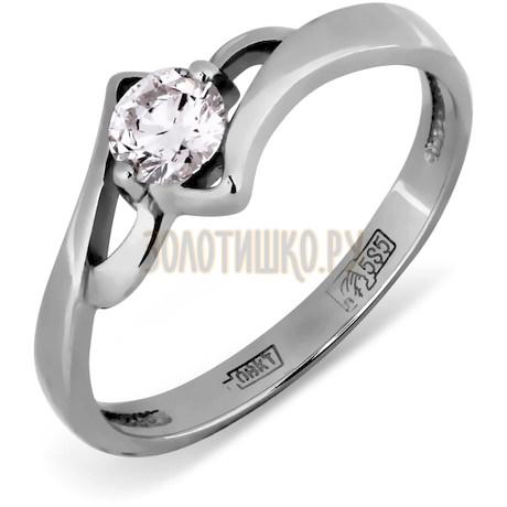 Кольцо с бриллиантом Т30101404