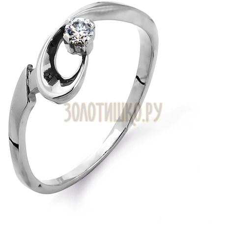 Кольцо с бриллиантом Т30101407
