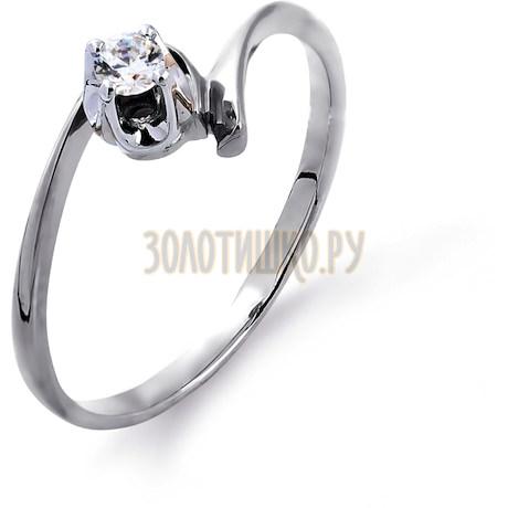 Кольцо с бриллиантом Т30101408