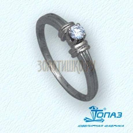 Кольцо с бриллиантом Т30101412