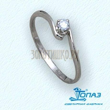 Кольцо с бриллиантом Т30101414