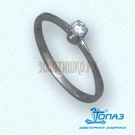 Кольцо с бриллиантом Т30101417