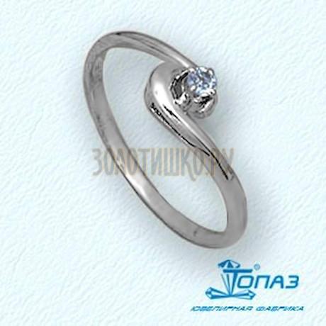 Кольцо с бриллиантом Т30101418
