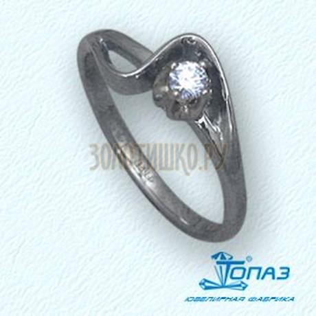 Кольцо с бриллиантом Т30101419